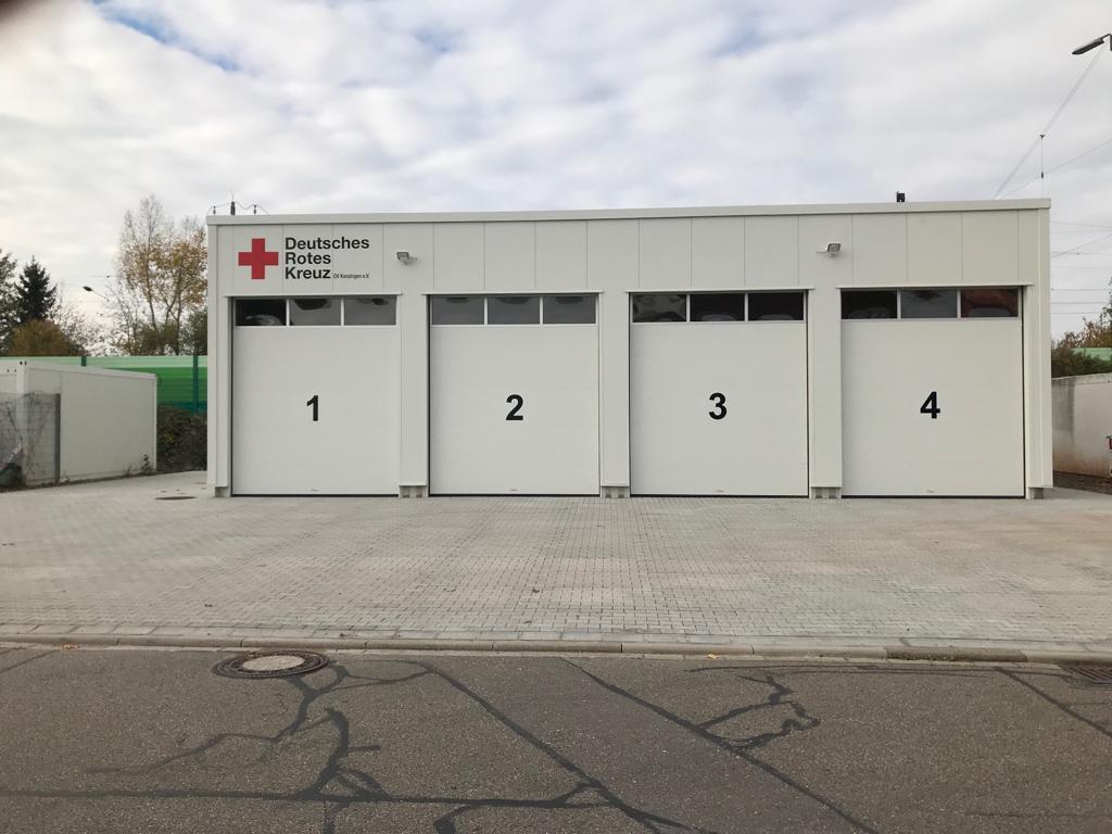Neue Garagen DRK III